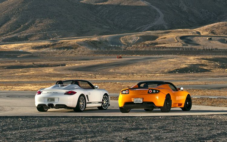 Tesla Vs Porsche ( CARS ) D