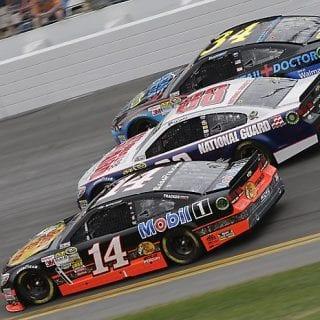 Tony Stewart Broken Leg - Daytona 500 ( NASCAR CUP SERIES)