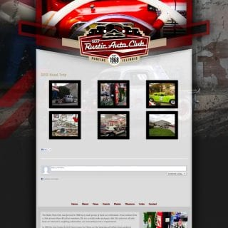 2013 Rustic Auto Club - Created by Walters Web Design