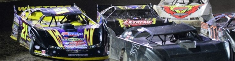 DIRT LATE MODEL: Billy Moyer Wins At Portsmouth Raceway Park