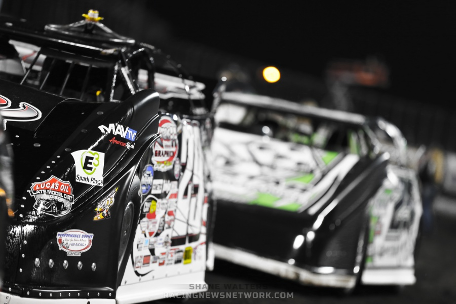 Darrell Lanigan Wins Knoxville Late Model Nationals Photos - Knoxville Raceway ( Shane Walters Photography )