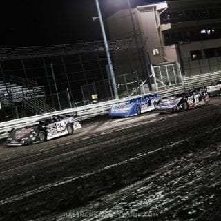 Darrell Lanigan Wins Knoxville Late Model Nationals - Knoxville Raceway ( Shane Walters Photography )