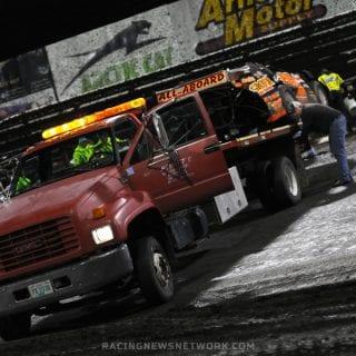 Eddie Carrier Jr Flip Sequence ( Knoxville Raceway )