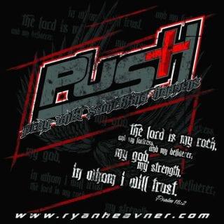 PUSH Racing Foundation ( Ryan Heavner ) T Shirt