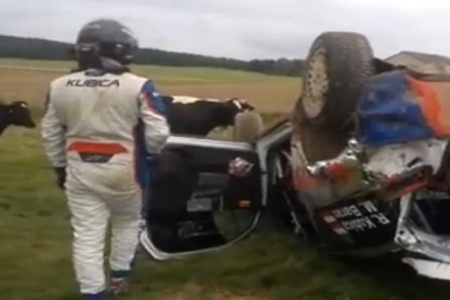 Robert Kubica Crash ( RALLY )
