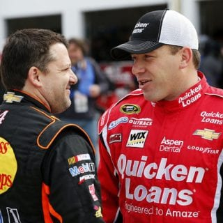 Tony Stewart and Ryan Newman ( NASCAR Cup Series )