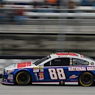 Dale Earnhardt Jr 2013 Car Bristol Motor Speedway ( NASCAR Sprint Cup )