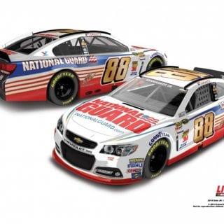 Dale Earnhardt Jr 2014 Car ( NASCAR Sprint Cup )