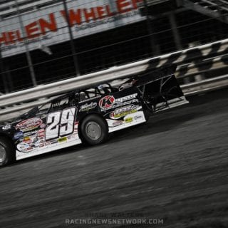 Darrell Lanigan Wins Lucas Oil Late Model Nationals ( Shane Walters Photography )