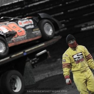 Eddie Carrier Jr Flip Sequence Lucas Oil Late Model Nationals ( Shane Walters Photography )