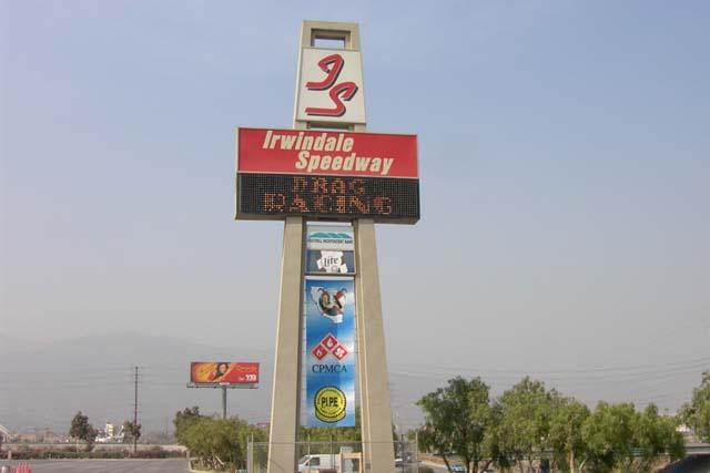 Irwindale Speedway Redevelopment ( Speedway Sign )