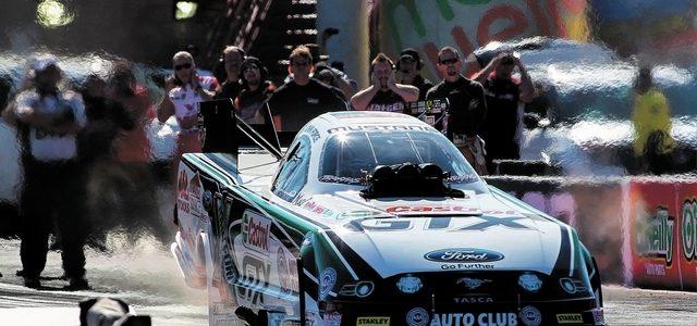 NHRA FUNNY CAR: John Force Claims Mello Yello Championship