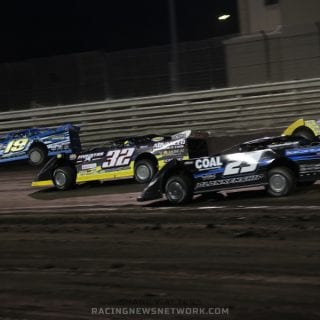 Knoxville Late Model Nationals 3 Wide Photos ( Shane Walters Photography )