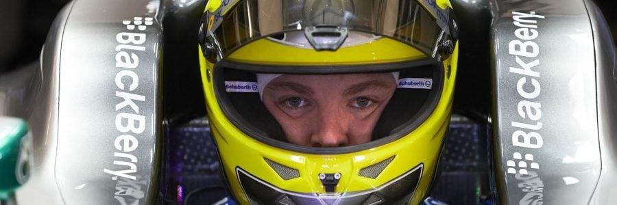 F1: Nico Rosberg Helmet Stolen