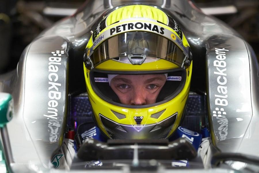 Nico Rosberg Helmet Stolen