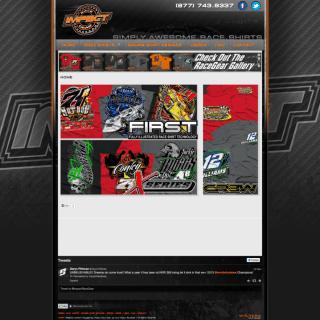 2013 Impact RaceGear Created by Walters Web Design