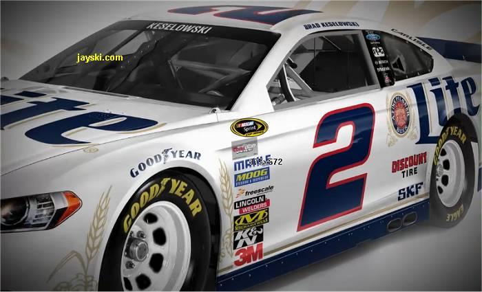 Brad Keselowski 2014 Car ( NASCAR CUP )