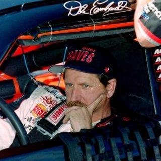 Dale Earnhardt Portrait ( Former NASCAR Driver )