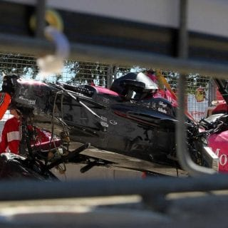 Dario Franchitti Crash Causes Driver Retirement ( INDYCAR )