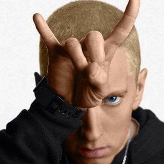 Eminem Blond Hair