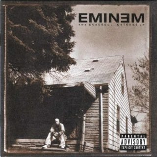 Eminem MMLP1 Cover Art