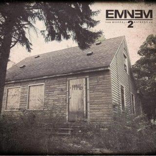 Eminem MMLP2 Cover Art (2013)