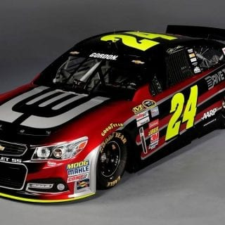 Jeff Gordon 2014 Car ( NASCAR Cup Series )