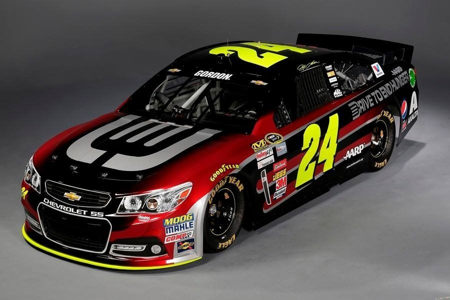 Jeff Gordon 2014 Car ( NASCAR Cup Series )