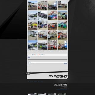 Sybesma Racing Graphics - Created by Walters Web Design