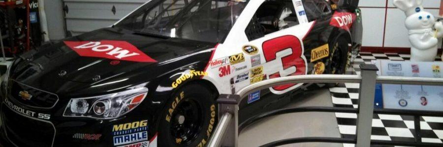 NASCAR CUP: Austin Dillon 2014 Car Return Of The 3