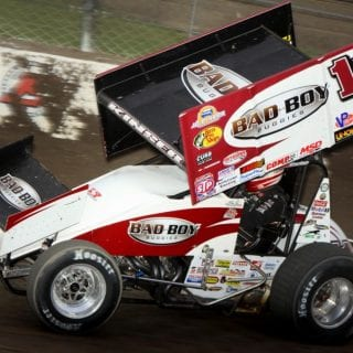 Steve Kinser Sprint Car Driver ( World of Outlaws )