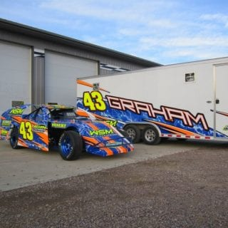 Sybesma Racing Graphics Car Wraps