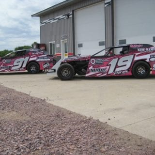 Sybesma Racing Graphics Dirt Modified Wraps