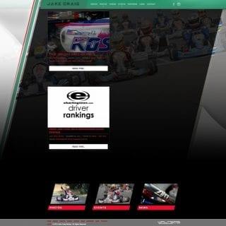 2014 Jake Craig Racing - Walters Web Design