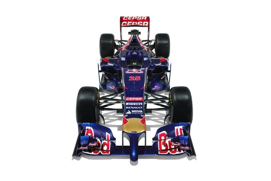 2014 Toro Rosso STR9 F1 Car Top ( Formula One )