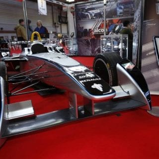 Autosport International Show Photos ( Formula E Car )