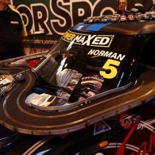 Autosport International Show Photos ( Scalextric SetUp )