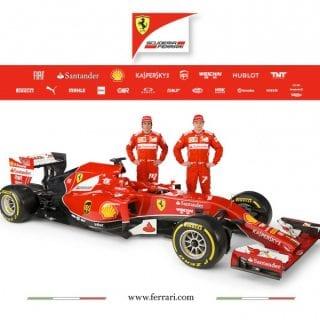 Ferrari F14 T Drivers F1 Car ( Formula One )