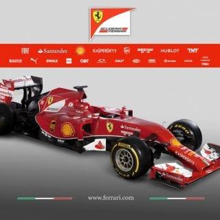 Ferrari F14 T Front F1 Car ( Formula One )