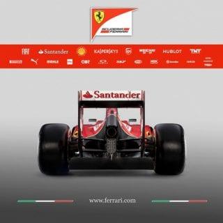 Ferrari F14 T Rear F1 Car ( Formula One )