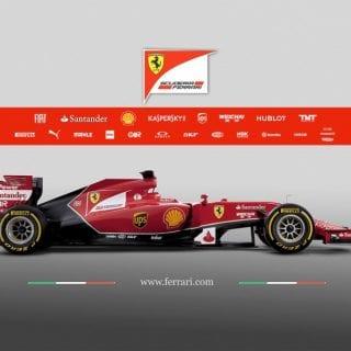 Ferrari F14 T Right Side F1 Car ( Formula One )