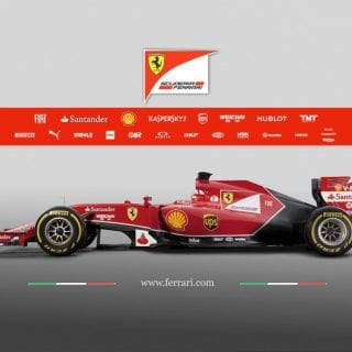 Ferrari F14 T Side F1 Car ( Formula One )
