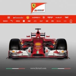 Ferrari F14 T Nose F1 Car ( Formula One )
