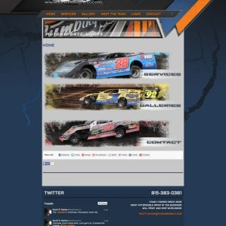 Fusion Motorsports Graphics - Walters Web Design