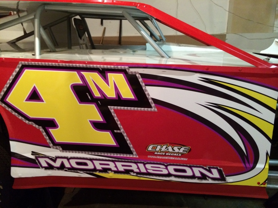 Jeff Morrison Racing Dirt Modified - Deaf Racing Driver