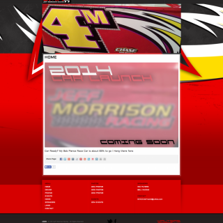 Jeff Morrison Racing - Walters Web Design ( 2014 Website Designs )