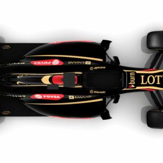Lotus E22 Top View (F1)