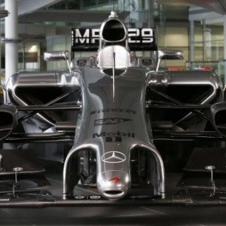 McLaren Mercedes MP4-29 CloseUp