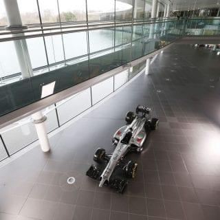 McLaren Mercedes MP4-29 Photoshoot
