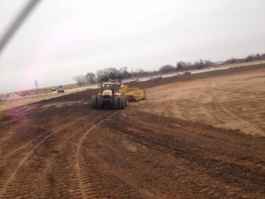 New Dirt Track In Oklahoma ( Speedway Construction )